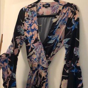 Yumi Kim wrap maxi dress